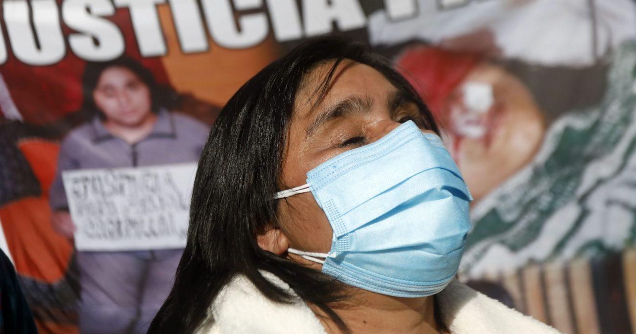 Esto, mientras Fabiola Campillai está a la espera del juicio contra el capitán Patricio Maturana. AGENCIA UNO/ARCHIVO
