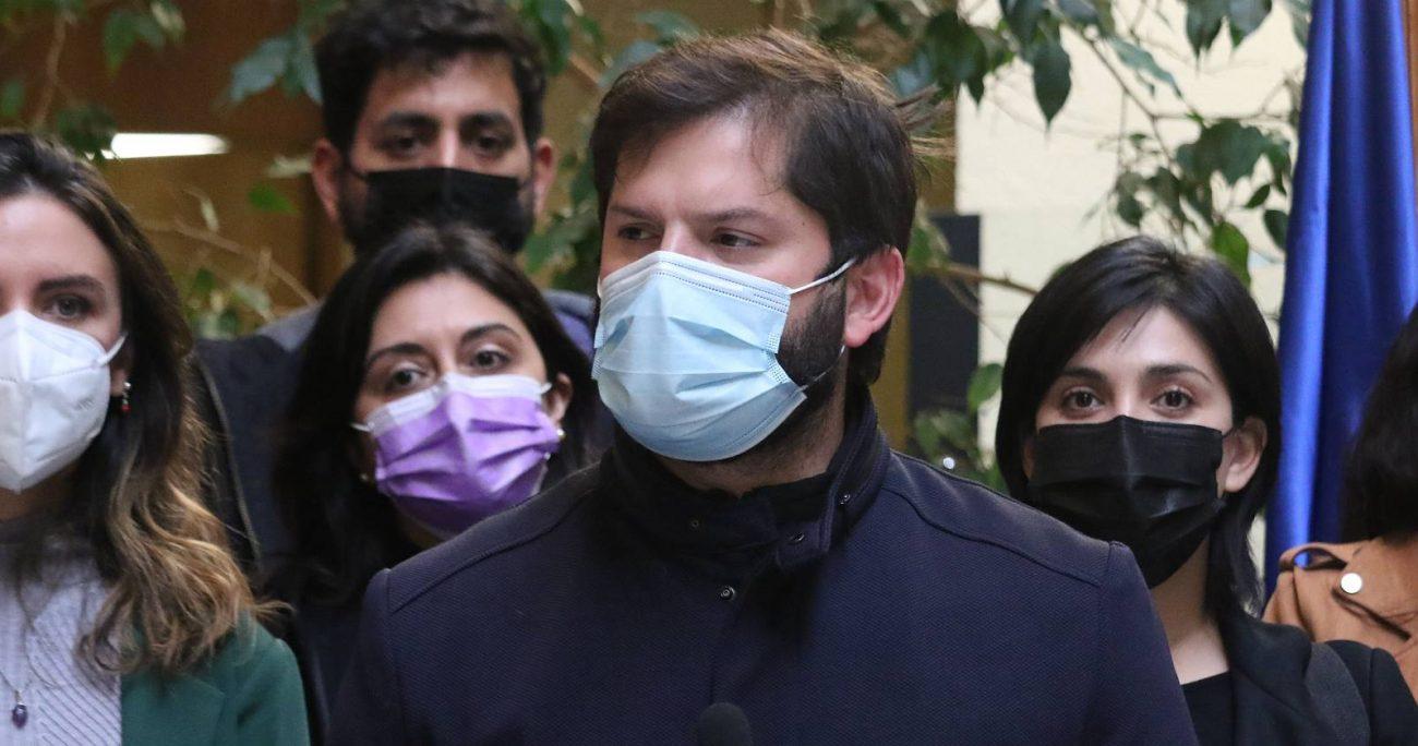 "Varela aseguró que Gabriel Boric ""no ha asumido responsabilidades de adulto pero quiere ser presidente"". AGENCIA UNO/ARCHIVO"