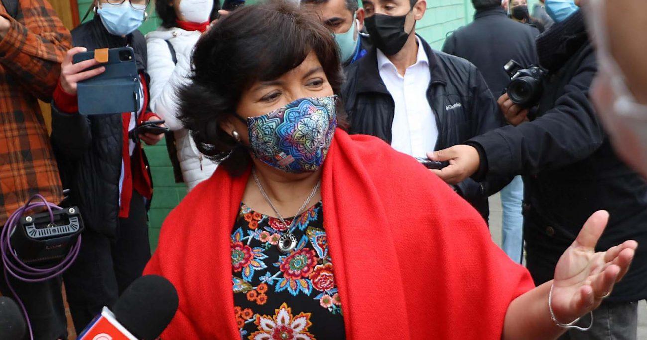 El proyecto avalado por la candidata Provoste es tan extremo que ni siquiera fue enarbolado por el candidato comunista. AGENCIA UNO/ARCHIVO