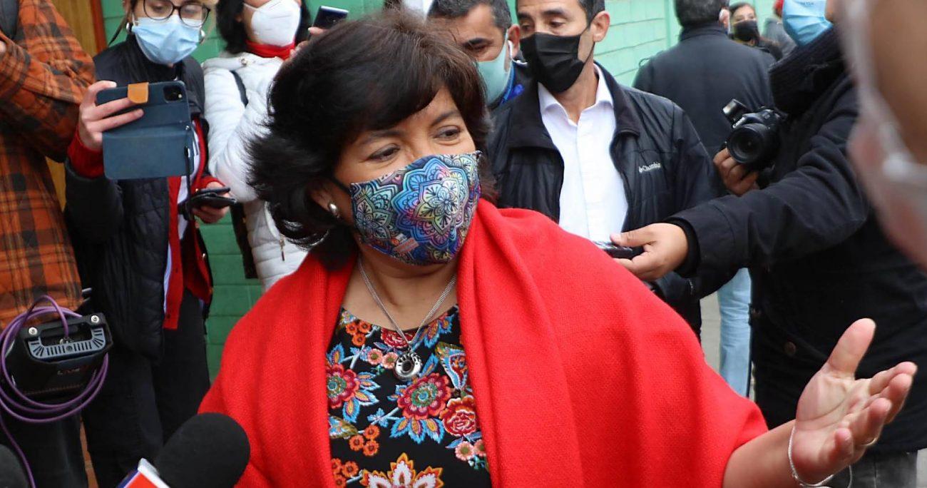 Provoste también abordó la acusación constitucional en su contra de 2008. AGENCIA UNO/ARCHIVO