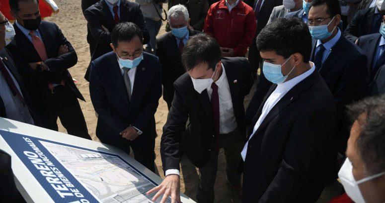 """""""Ejecutivos de Sinovac visitaron Antofagasta para evaluar instalación de planta de vacunas"""""""