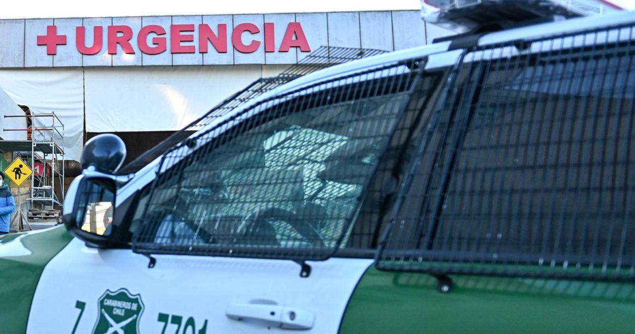 Por su parte, el otro carabinero involucrado en el enfrentamiento fue el cabo Patricio Aravena. AGENCIA UNO