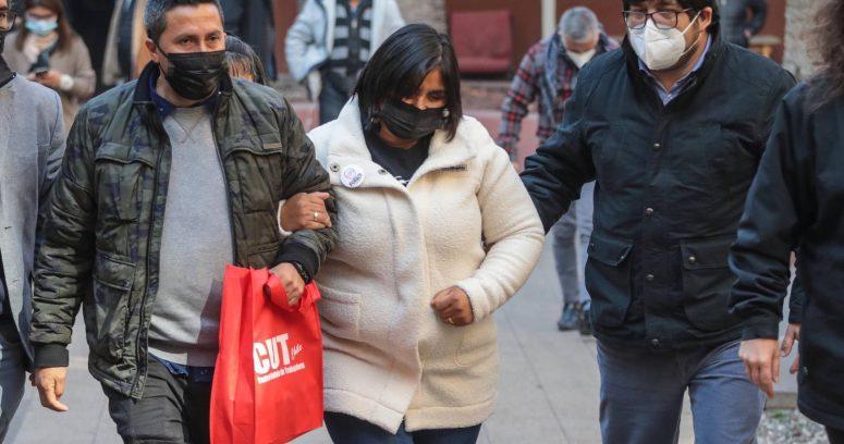 """Fabiola Campillai llama a """"destruir y quemar todo"""" tras arresto domiciliario a Patricio Maturana"""