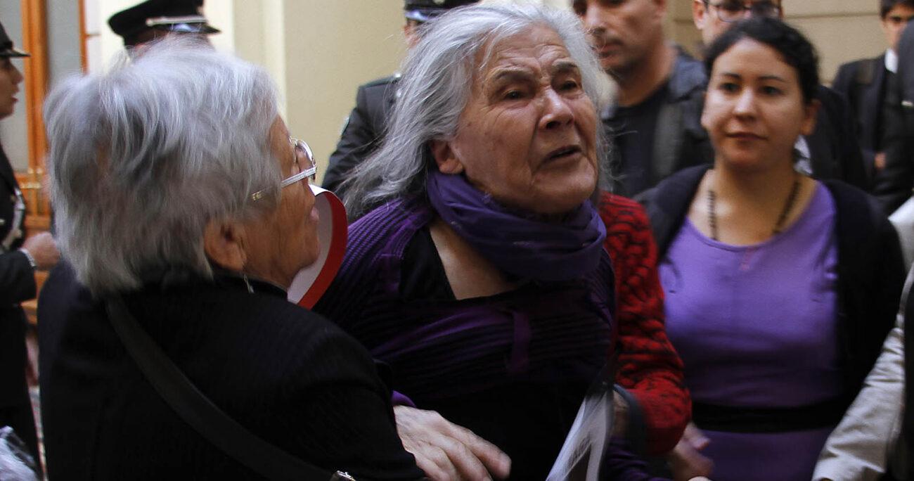 """Sus familiares describieron a Luisa Toledo Sepúlveda como una mujer """"inclaudicable, sempiterna e imprescindible"""". AGENCIA UNO/ARCHIVO"""