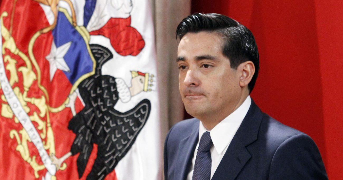 El ex ministro del Interior evidenció sus vínculos con la zona, detallando que nació en Coronel. AGENCIA UNO/ARCHIVO