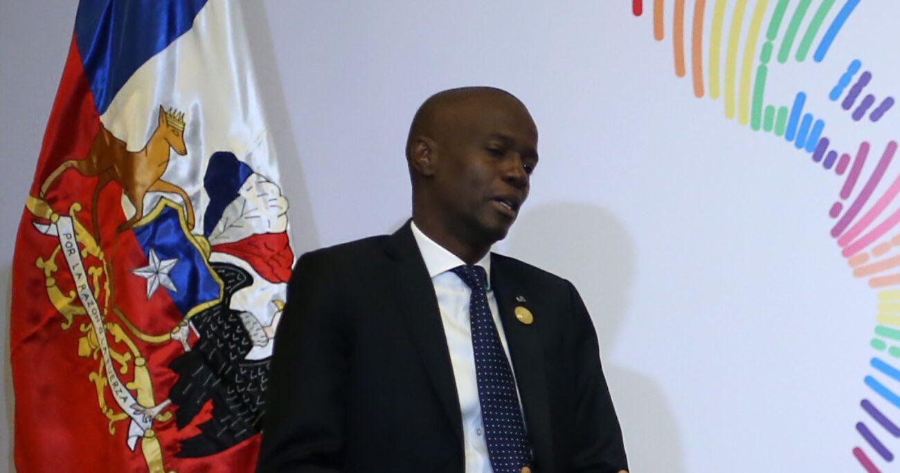En una conferencia de prensa, el director general de la Policía, Leon Charles, detalló que al menos 28 atacantes están involucrados en en magnicidio. AGENCIA UNO/ARCHIVO