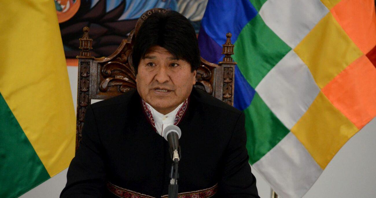 El ex mandatario usó su cuenta de Twitter para mostrar su respaldo al régimen. AGENCIA UNO/ARCHIVO