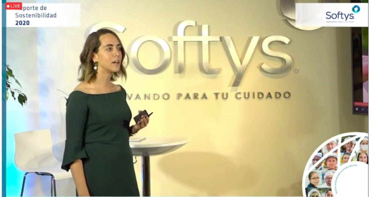 La presentación del Reporte de Sostenibilidad 2020 de Softys se realizó vía streaming este miércoles. CAPTURA