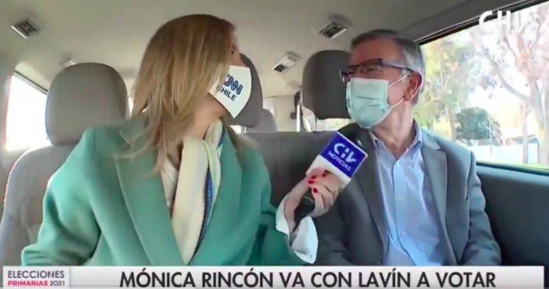 """""""Lavín descarta que Pinochet sea la persona"""