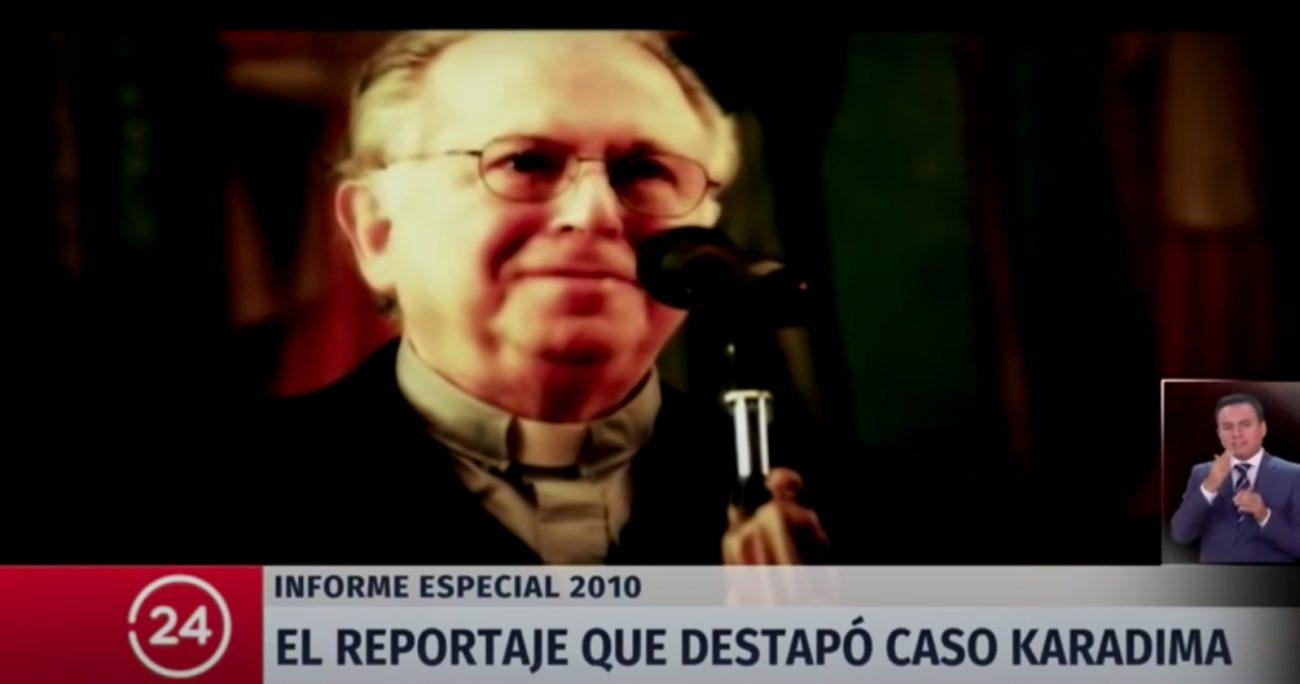 Desde la Iglesia se cuadraron a favor de Karadima y negaron los abusos. CAPTURA