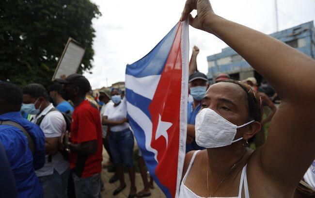 """""""CIDH recibe informe de uso de fuerza y cortes de internet durante protestas en Cuba"""""""