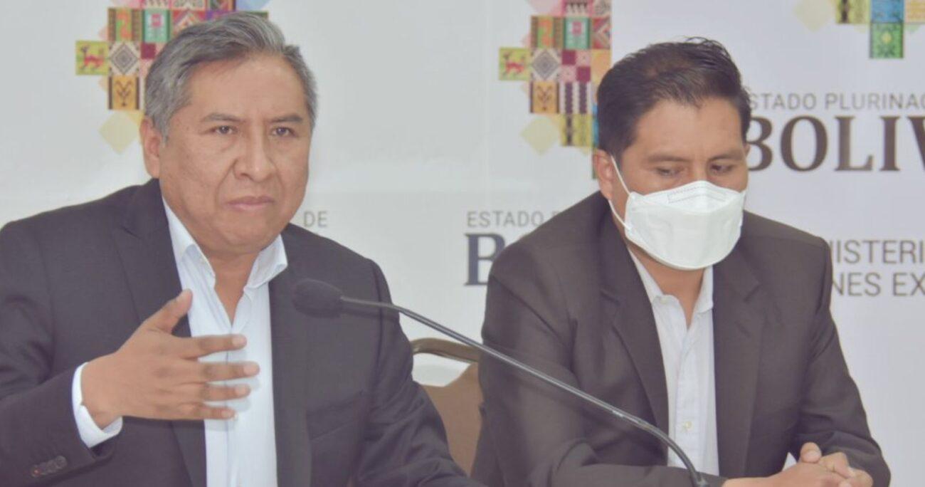"""Alberto Fernández le envió una nota a su par boliviano para lamentar el hecho y expresarle su """"dolor y vergüenza"""". TWITTER/CANCILLERIABOLIVIA"""