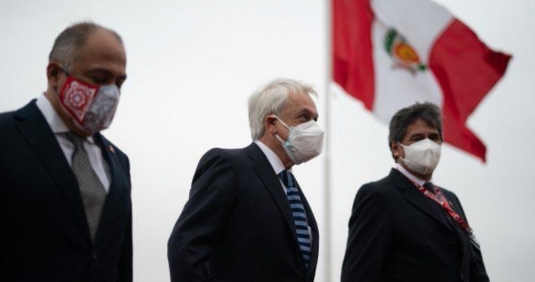 """Presidente Piñera llega a Perú para el cambio de mando: """"Compartimos historia, desafíos y futuro"""""""