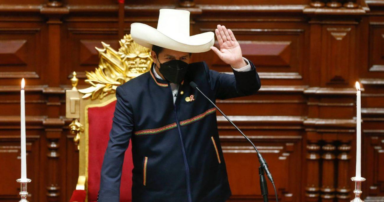 Castillo explicó que impulsará la creación de rondas de vigilancia en los lugares en los que no existan.TWITTER/PRESIDENCIAPERU