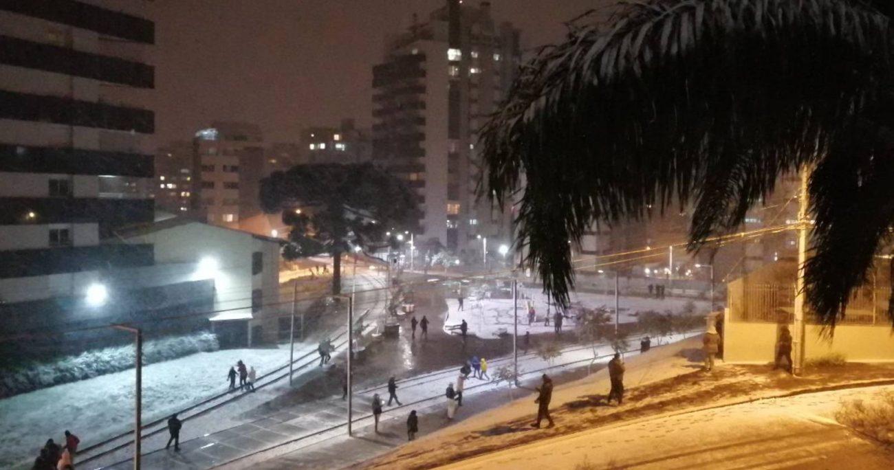 Se trata del evento de nieve con mayor cobertura geográfica desde 2013. METSUL
