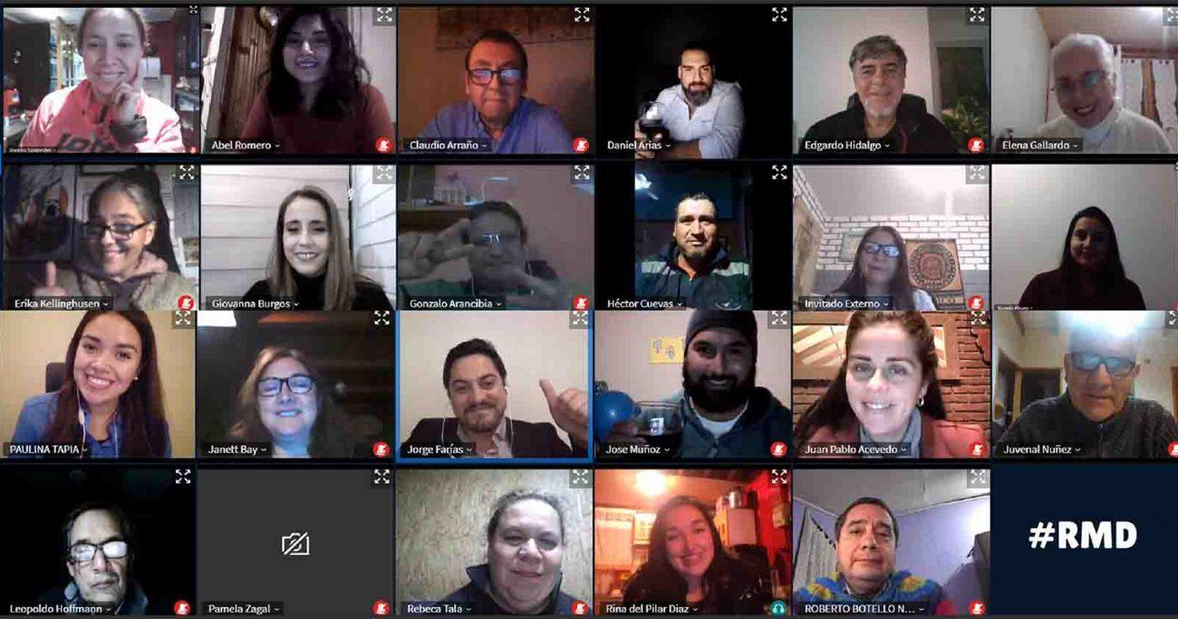 Los talleres y mentorías realizas por docentes de Inacap se realizaron de forma online.