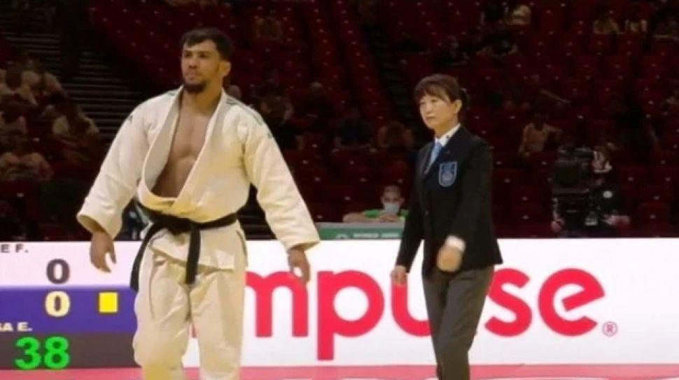 Días pasados, el polémico judoca señaló a medios de Argelia que su apoyo a Palestina le hacía rechazar un eventual encuentro con Tohar Butbul de Israel.