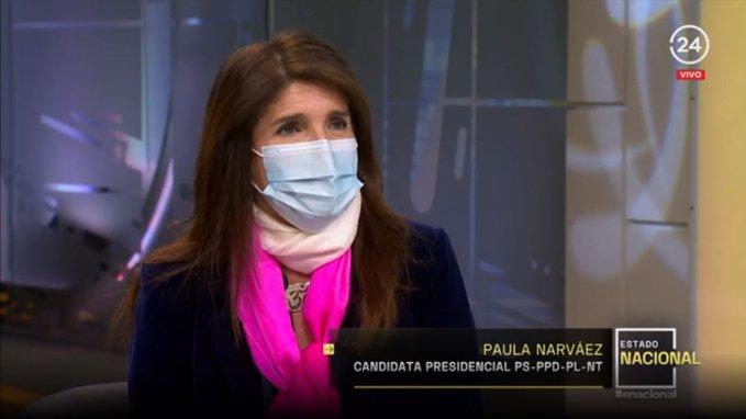 """Paula Narváez y candidatura de Provoste: """"Es la reacción a unas encuestas"""""""
