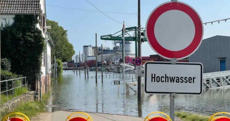 """""""Lluvias torrenciales en Alemania son calificadas como un"""