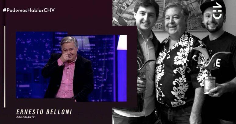 """""""El llanto de Ernesto Belloni en pantalla al recordar experiencia con su padre"""""""