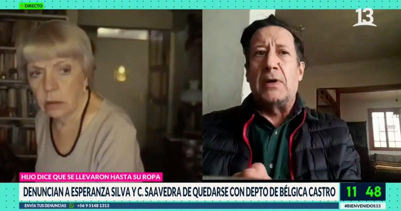 El hijo de Bélgica Castro busca saber qué ocurrió con la venta del departamento donde vivía su madre con Alejandro Sieveking.