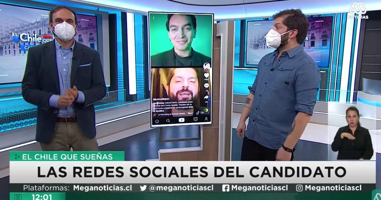 """""""Esto no se había visto en la televisión chilena"""", declaró el periodista."""