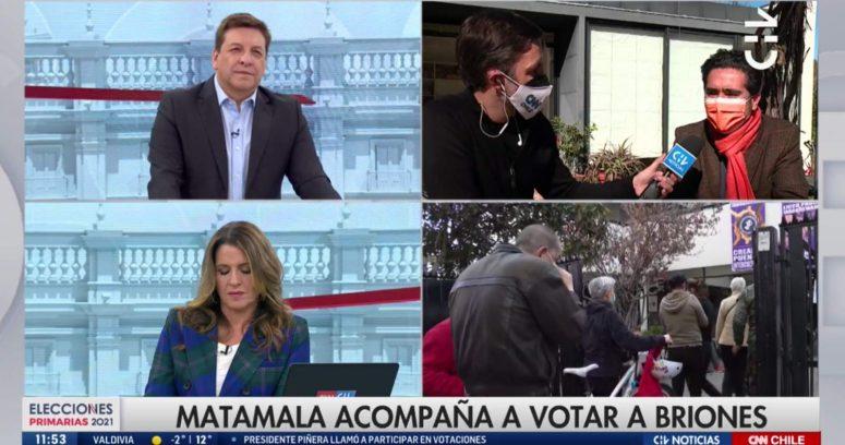 """""""Chilevisión y CNN Chile lideran en sintonía con cobertura matinal de las primarias"""""""