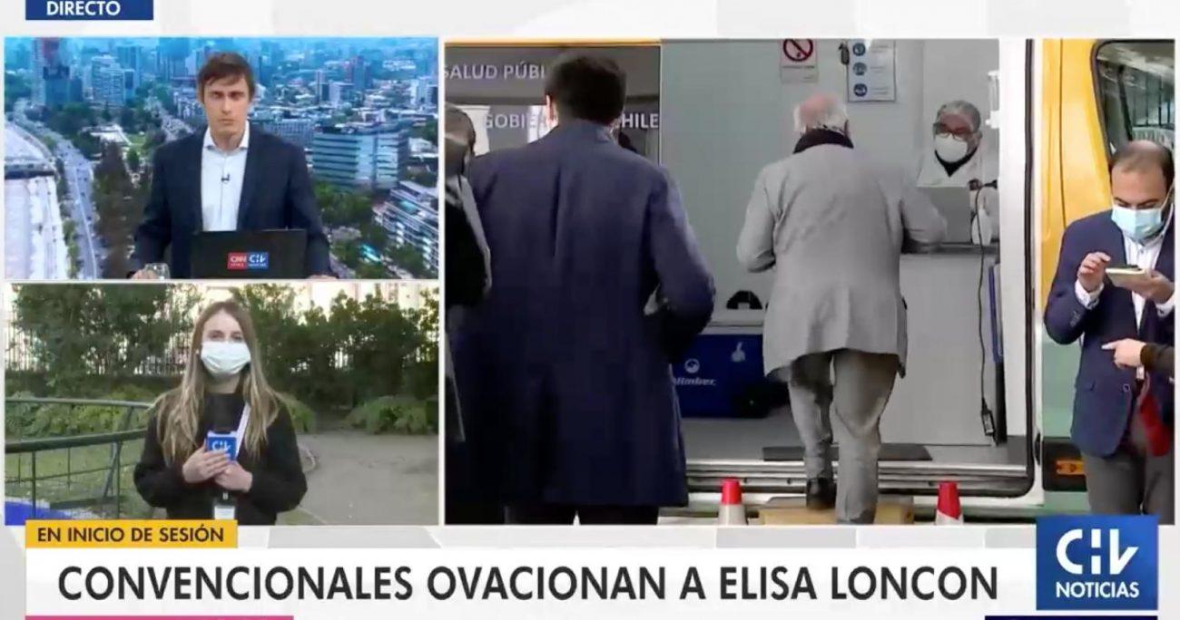 El hecho ocurrió durante la edición de este miércoles de CHV Noticias Tarde.