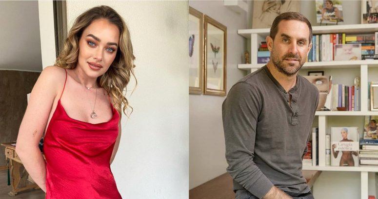 Daniela Nicolás confirmó que tuvo una relación con Cristián Arriagada, viudo de Javiera Suárez