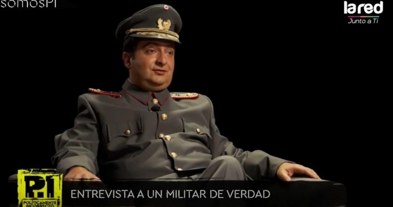 El sketch humorístico que molestó al Ejército se hizo en el programa Políticamente Incorrecto. CAPTURA