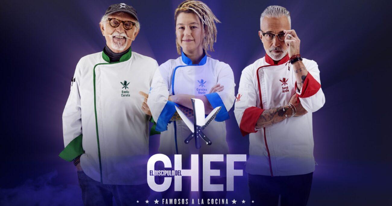 Sergi Arola y Ennio Carota ya habían estado en la primera temporada del programa. CHV