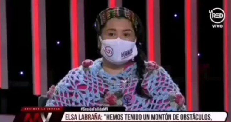 """""""Constituyente Elsa Labraña anuncia que podrían cambiar himno y bandera"""""""