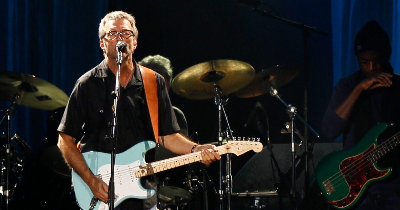 Clapton ya tiene fijados varios shows en Estados Unidos para los próximos meses. AGENCIA UNO/ARCHIVO