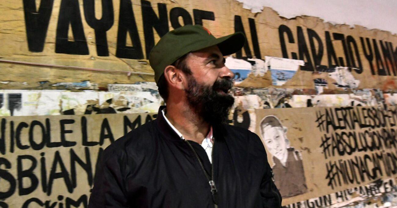 """Hugo Gutiérrez cree que la Armada presentará la solicitud por el """"odio"""" que le tienen. AGENCIA UNO/ARCHIVO"""