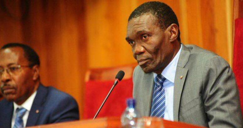 """""""Senado de Haití elige a Joseph Lambert como presidente interino"""""""