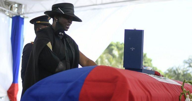 """Primera dama de Haití en funerales de Jovenel Moïse: """"Fue abandonado y traicionado"""""""
