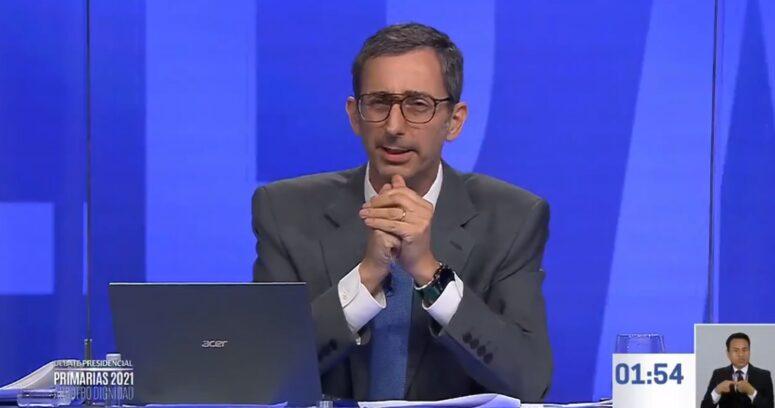 """""""Filtran audio de Matías del Río en la previa del debate de Boric y Jadue"""""""