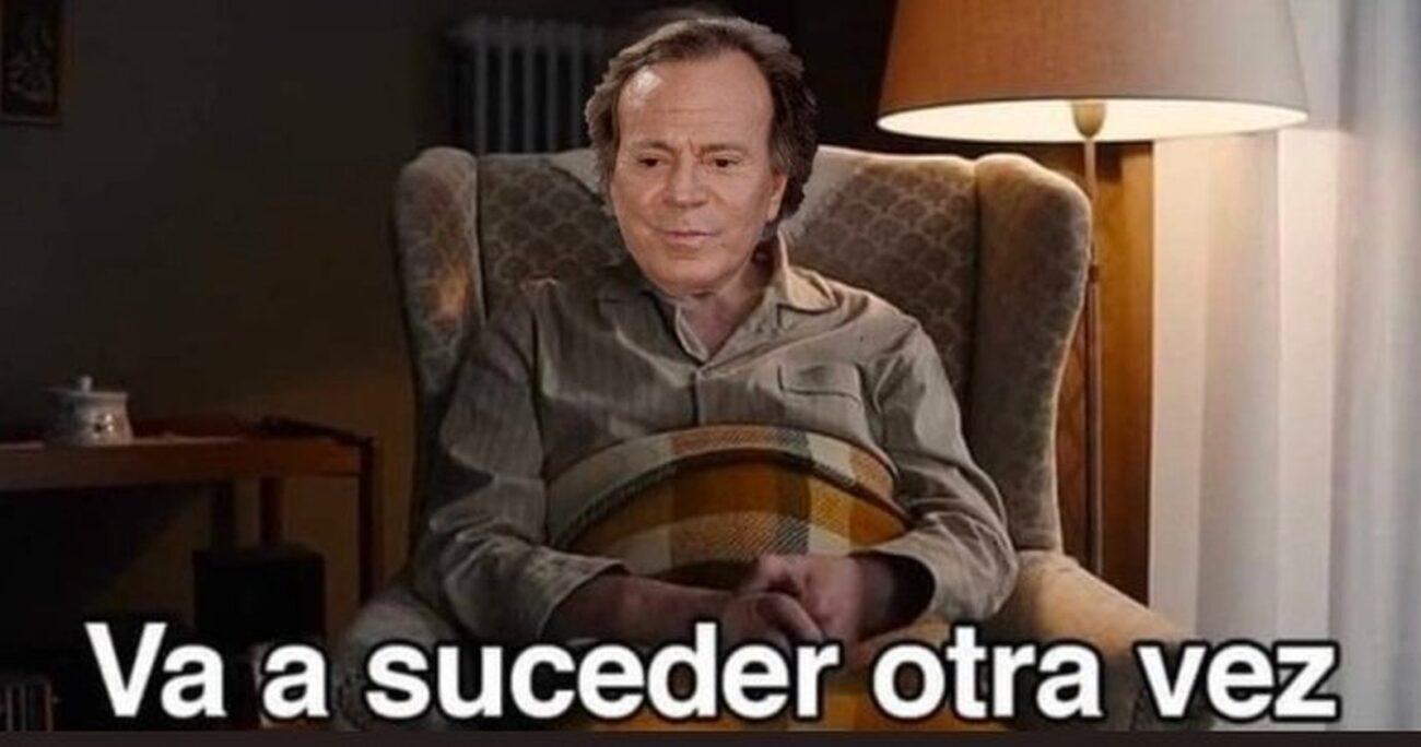 Uno de los memes dedicado al artista español. TWITTER