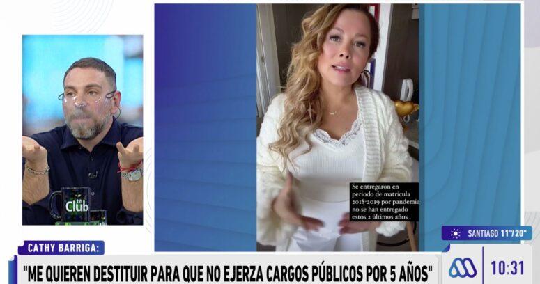 """""""El emplazamiento de José Antonio Neme a Cathy Barriga:"""