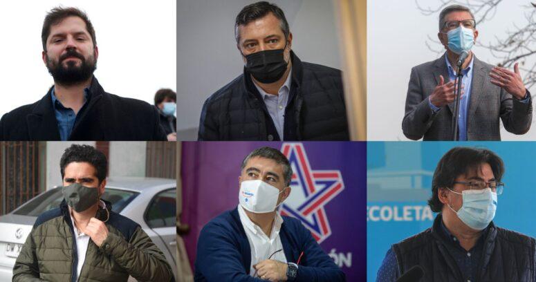 """""""Comenzó la franja de las primarias: así se presentaron los 6 candidatos"""""""