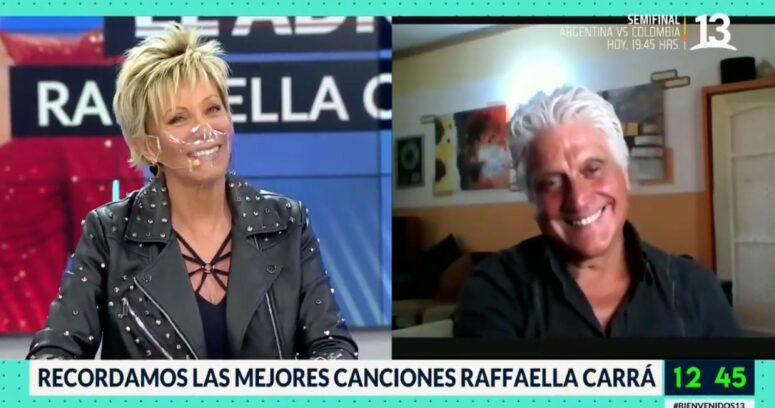 """""""El coqueto reencuentro de Raquel Argandoña y Lolo Peña en Bienvenidos"""""""