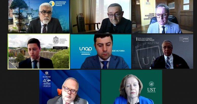 Organización internacional acepta llamado de rectores de La Araucanía para avanzar en el diálogo en la zona