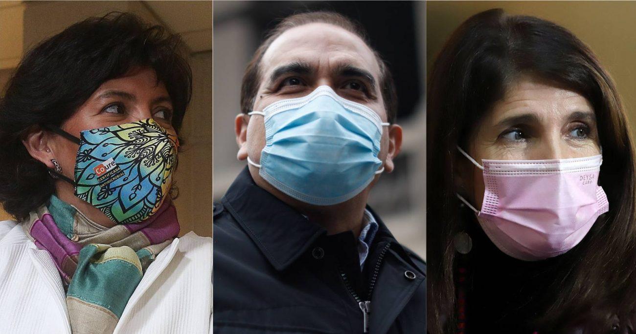 Yasna Provoste, Paula Narváez y Carlos Maldonado se someterán a esta consulta. AGENCIA UNO/ARCHIVO
