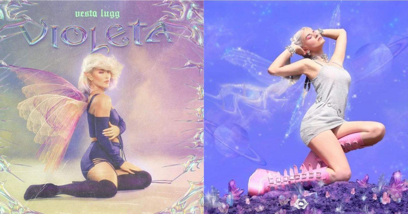 """El single """"Violeta"""" de Lugg fue estrenado el pasado viernes. INSTAGRAM"""