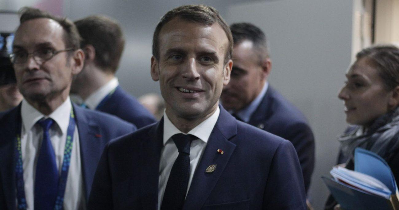La ayuda se utilizará en educación, ayuda alimentaria y agricultura, según precisó Macron.
