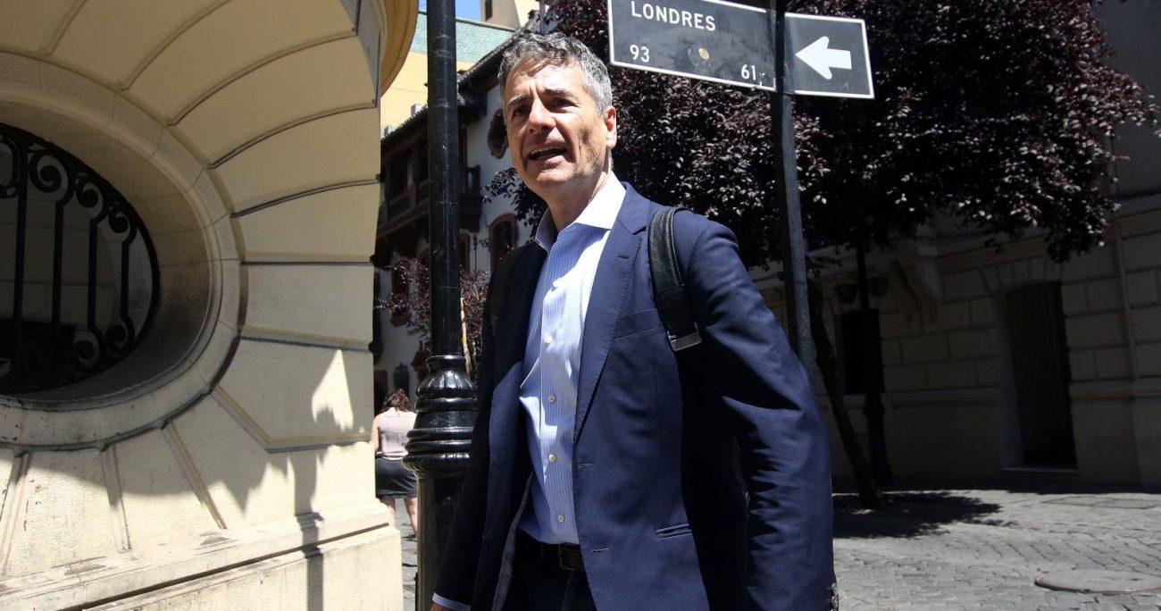Velasco fue presidente de Ciudadanos entre 2016 y 2018. AGENCIA UNO/ARCHIVO