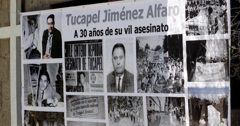 """""""Justicia rechaza recurso de asesino de Tucapel Jiménez por denegación de libertad condicional"""""""
