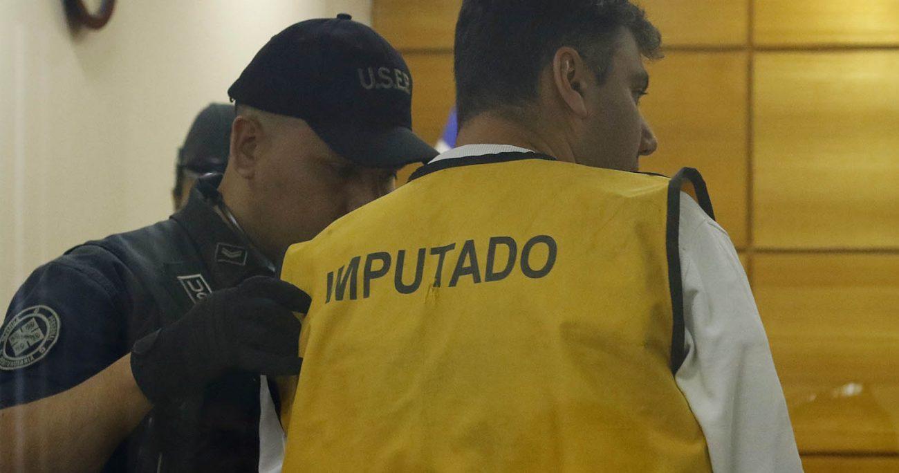 Karim Chahuán se mantuvo en prisión preventiva desde el 4 de diciembre de 2019, cuando se inició la investiación del caso y se estableció su vinculación con el robo al mall. AGENCIA UNO/ARCHIVO