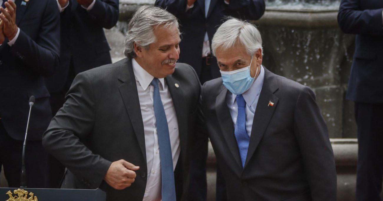 """""""Lo que Chile ha hecho es defender su soberanía"""", dijo Sebastián Piñera. ARCHIVO/AGENCIAUNO"""