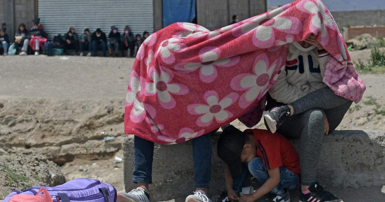 Entre las personas extranjeras que la organización ingresó al país había adultos, adolescentes y niños. AGENCIA UNO/ARCHIVO